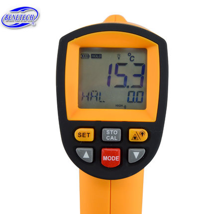 GM500/700/900 Non contact Digital Laser infrared thermometer Themperature Pyrometer IR Laser Point Gun EMS 0.1-1.0 gm500 700 900 non contact digital laser infrared thermometer themperature pyrometer ir laser point gun ems 0 1 1 0