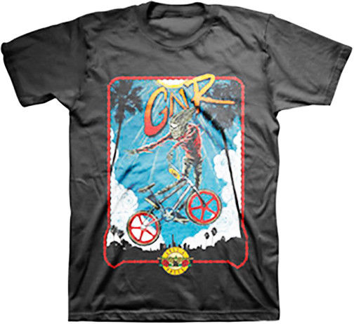 GUNS N ROSES - BMX - T SHIRT S-M-L-XL-2XL Brand New - Official T Shirt