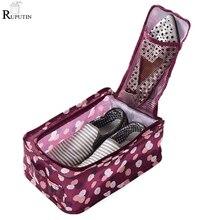 RUPUTIN Drop Ship Travel Shoes Storage Bags Portable Women Men Organizer Folding Bag High Capacity Finishing Package