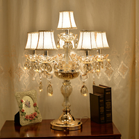 modern Bedside lamp crystal table lamps for bedroom luxury crystal table lamp american K9 luxury crystal decoration lamp