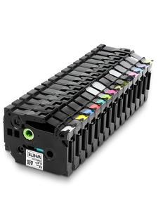 Unistar tze231 лента 12 мм совместима с Brother P-touch TZe 231 335, черная на белом, многоцветная этикетка TZ TZe-231 TZe-FX231