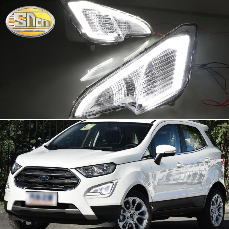 For Ford EcoSport 2018 2019 LED Daytime Running Lights