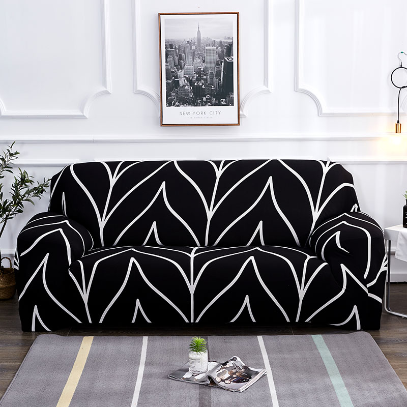 Up To 3 Seats Stretchable Sofa Cover 18