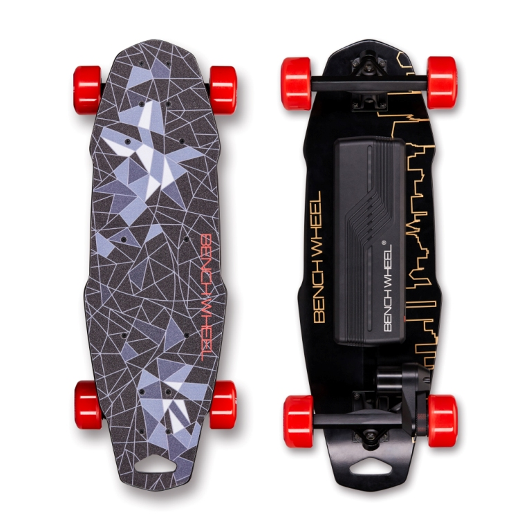 Benchwheel Electric scooter carbon fiber  1000W 36v penny board  Us warehouse stock explore penny board 28
