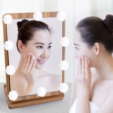 цены ZINUO USB Powered Makeup Mirror LED Lights 10pcs Hollywood Vanity Light Round Bulbs For Dressing Table with Dimmer ,Linkable