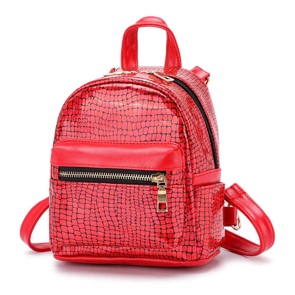 ... Aelicy New Arrival Women Mini Glitter Backpack Female Small Leather  Black Bag Stylish Back Pack Backpacks ...