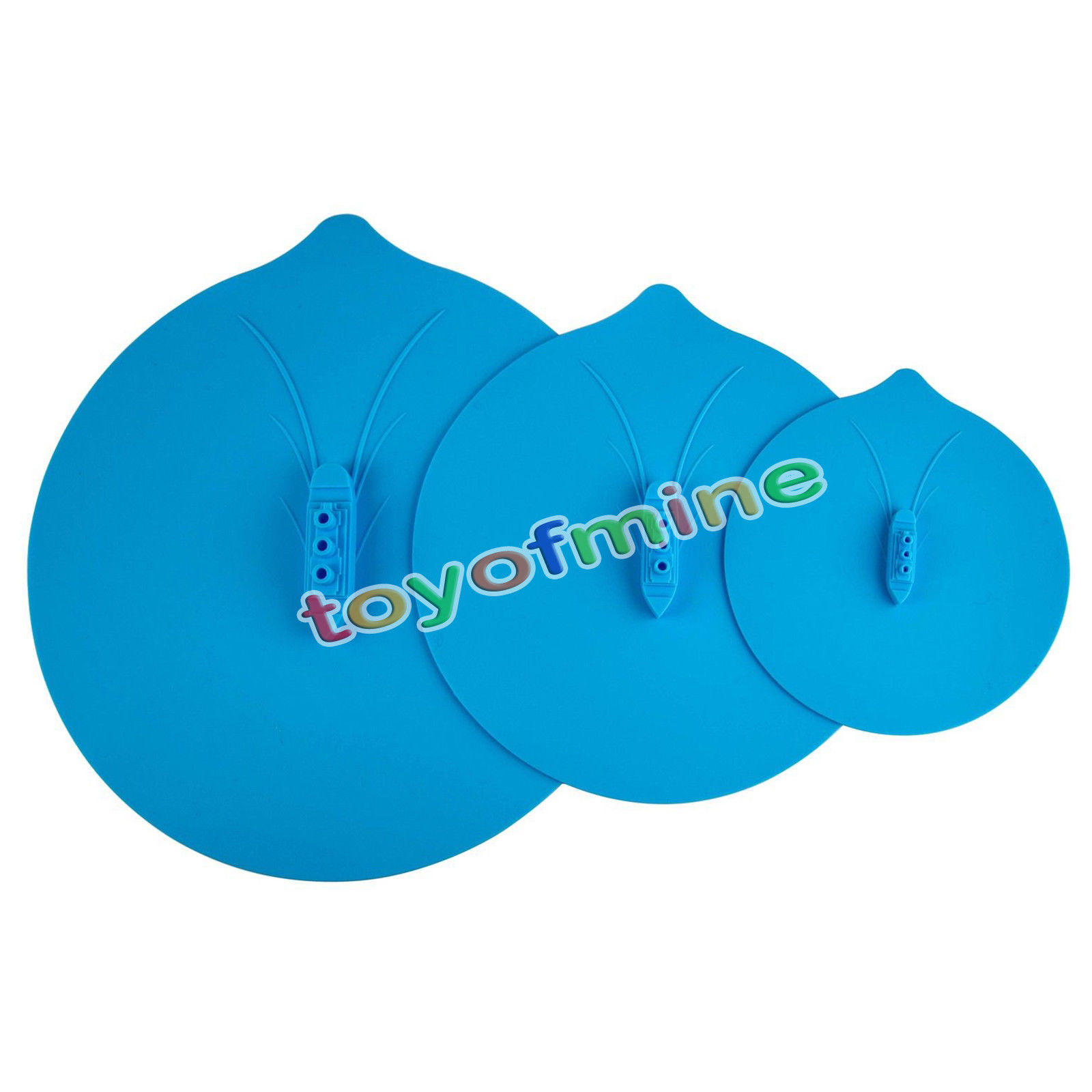 toyofmine Steam Silicone Steamer Lid Pot Cover Kitchen