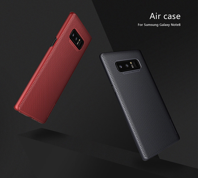 new product 1bf00 62c68 US $10.68 |For Samsung Note 8 case Brand NILLKIN Air Dissipate heat Phone  case For Samsung Galaxy Note 8 Bumper Case-in Fitted Cases from Cellphones  & ...