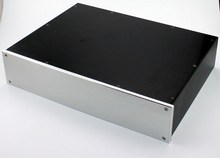 WA47 Aluminum enclosure Preamp chassis Power amplifier case/box size 310*425*92MM