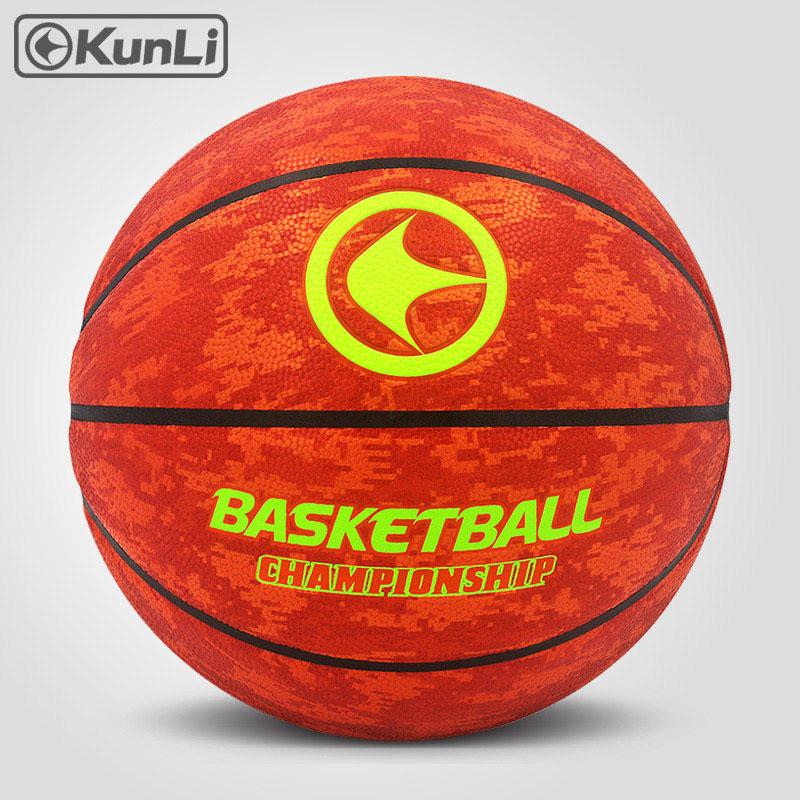 orijinal KUNLI basketbol topu KLBA201 BLUE Size7 size6 size5 Marka - Komanda idman növləri - Fotoqrafiya 6