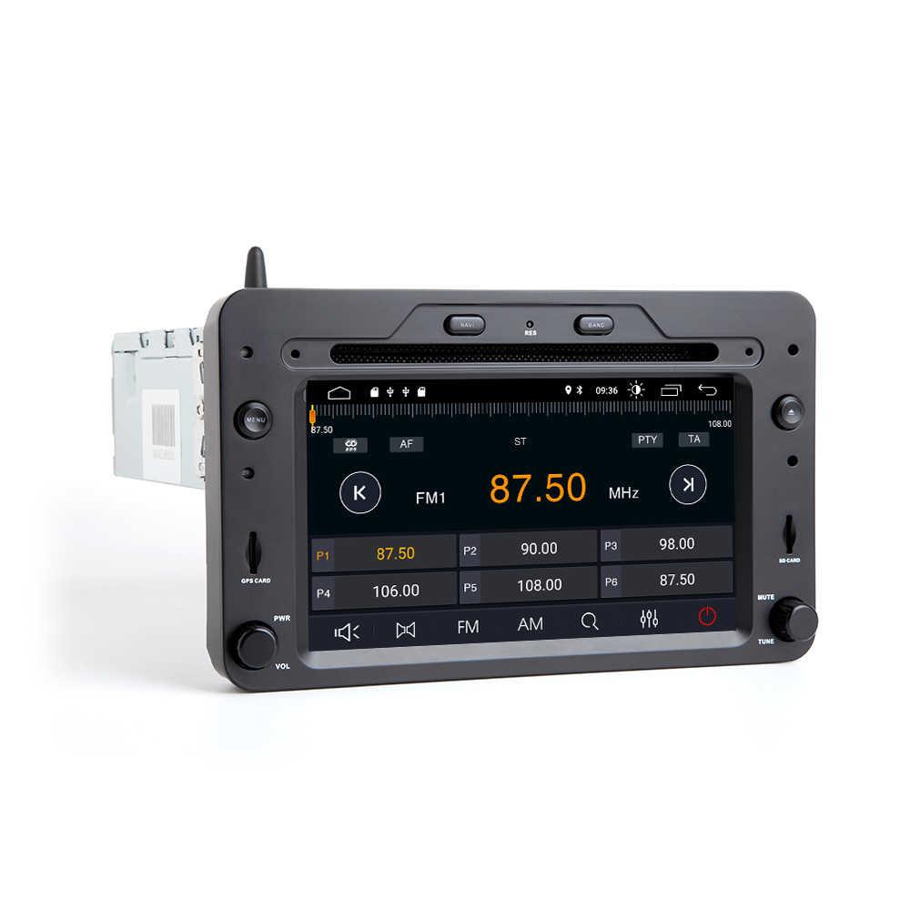 2 din Android 9,0 navegación GPS Radio para Alfa Romeo 159 Brera araña Sportwagon de DVD de coche Multimeida jugador unidad de cabeza wifi de Audio