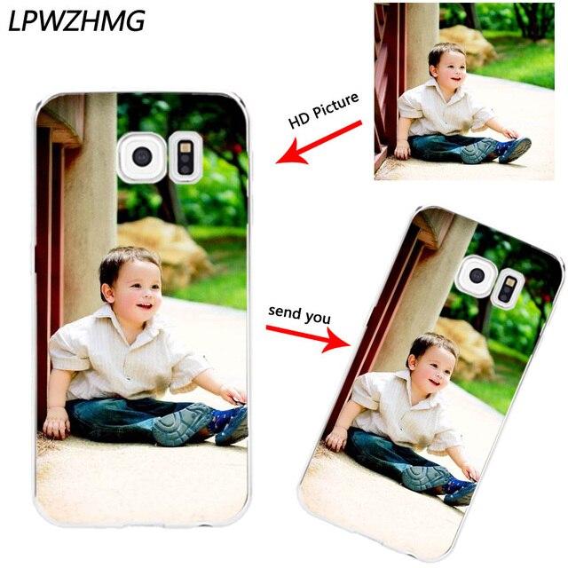 watch 2c51a f0264 US $2.88 10% OFF|Custom DIY Print Photo Soft TPU Phone Case For Samsung  Galaxy S6 S7 edge S8 Plus S3 J3 J5 J7 Customized Back Cover Free Logo  Fee-in ...