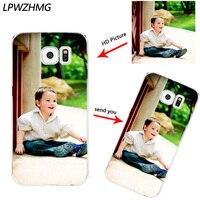 Custom DIY Print Photo Soft TPU Phone Case For Samsung Galaxy S6 S7 Edge S8 Plus