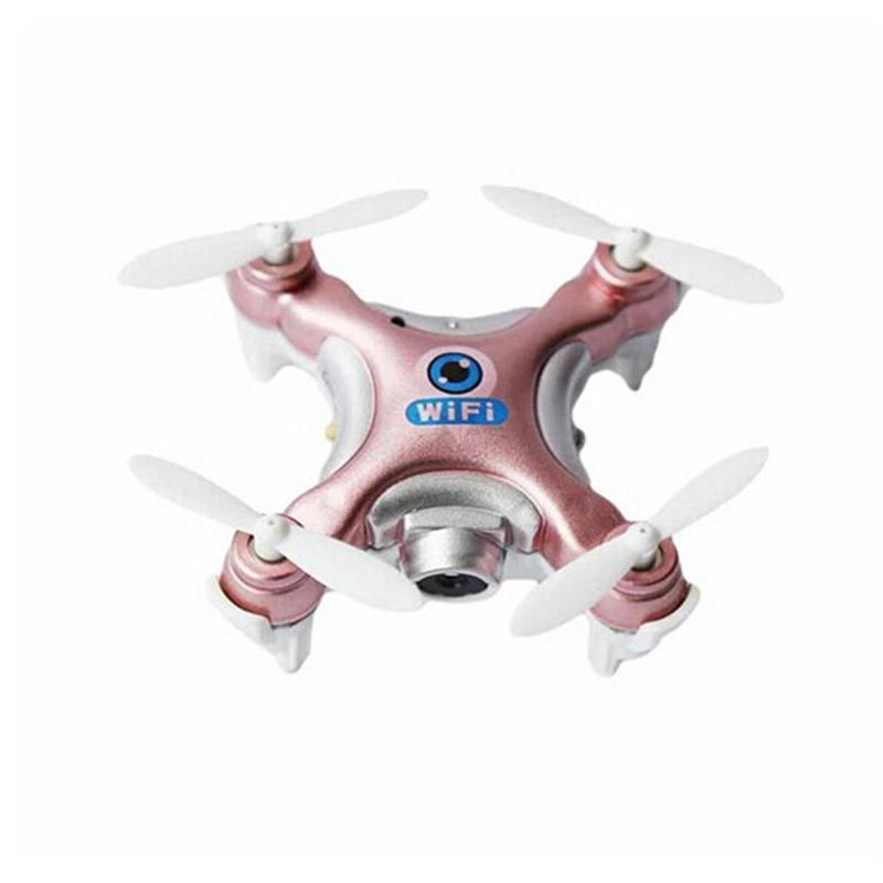 Dron Quadrocopter Cheerson CX-10W CX10W Pocket Drone With Wifi FPV Camera 4CH 6Axis Gyro Quadcopter RTF UAV RC Helicopter cheerson cx 32s drone with 2mp camera lcd 4ch 6axis helicopter with fpv 5 8g video real time transmision hight hold aircraft