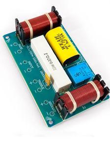 Image 5 - 2 STÜCKE 120 Watt 3 Way Lautsprecher Frequenz Teiler Lautsprecher Crossover Filter Schaltung für lautsprecher box