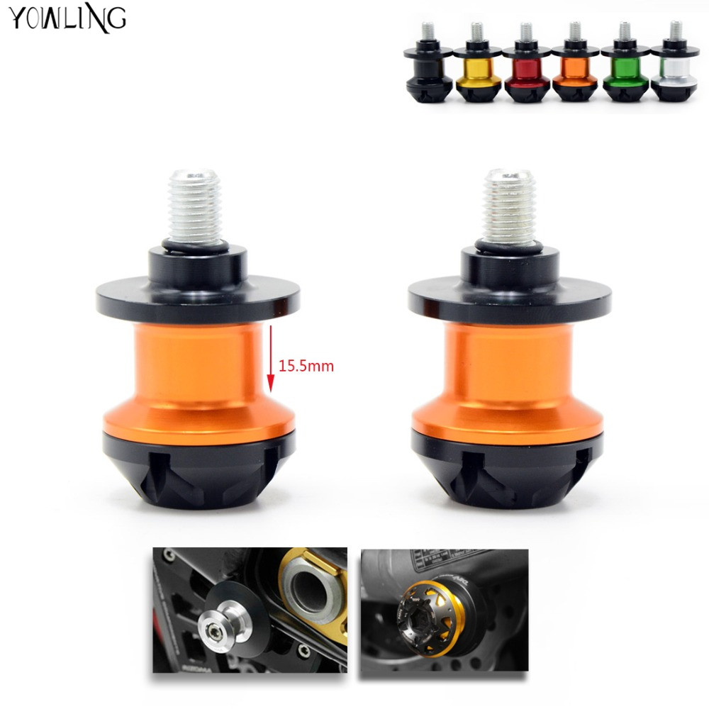 2pcs Motorcycle accessories CNC swingarm spools slider for KTM 1290 Super Duke R/X-BOW STREET/X-BOW R/X-BOW CLUBSPORT