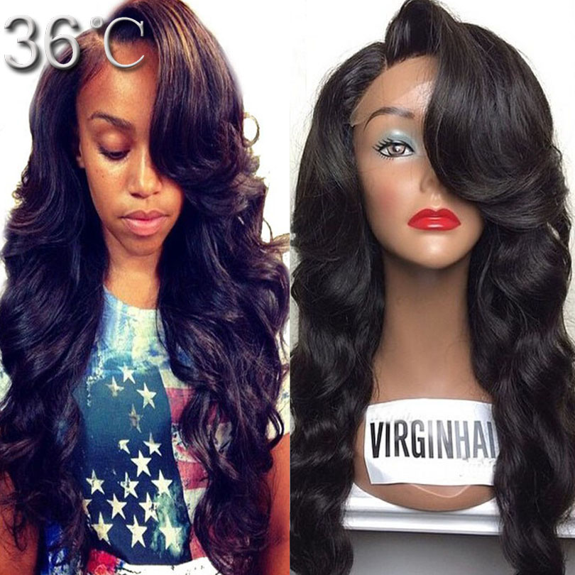 Aliexpress Com Buy Lace Front Human Hair Wigs150 Density