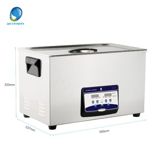 Image 2 - SKYMEN Ultrasonic Cleaner 30l digital touch control ultasonic bath 110/220V 600w stainless steel  tank cleaning Appliances