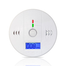 Etiger  85dB Warning High Sensitive LCD Photoelectric Independent CO Gas Sensor Carbon Monoxide Poisoning Alarm Detector