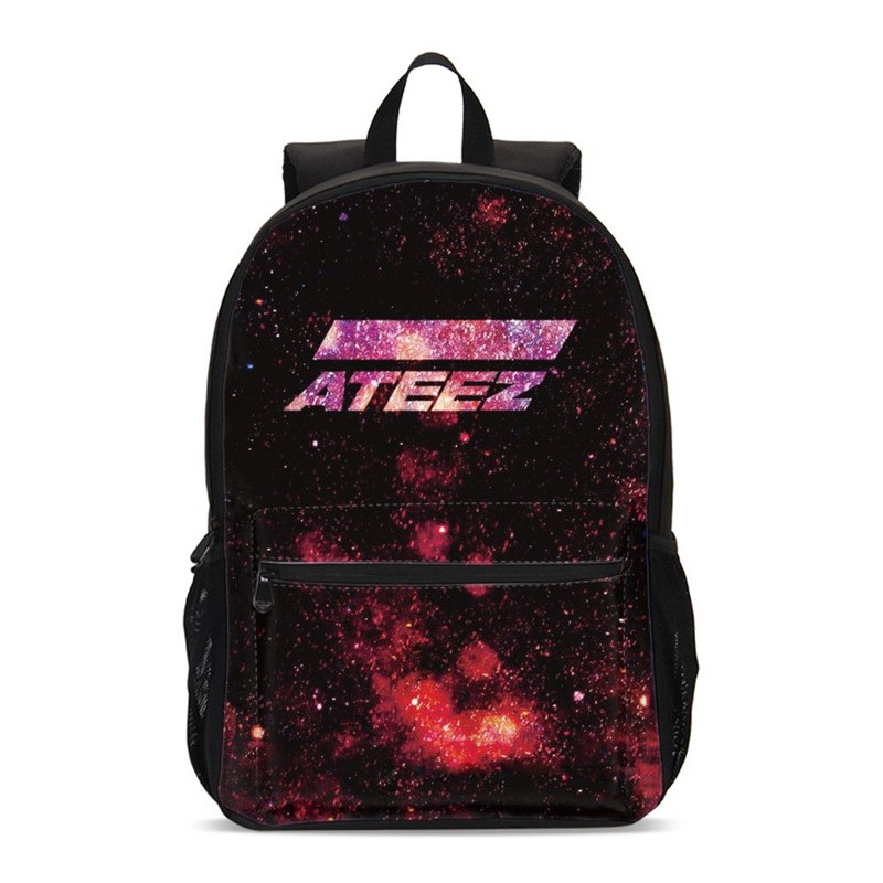 Backpacks For Girls Fashion Cool Kpop Group ATEEZ Letter