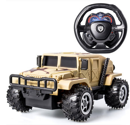 rc Large cross-country children electric toy car remote control car remote control car Charging the steering wheel car suv
