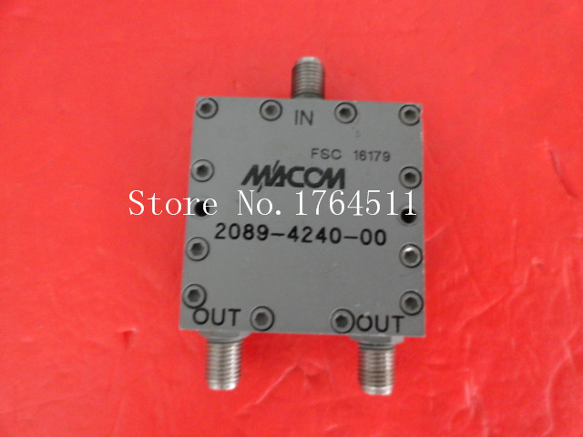 [BELLA] M/A-COM 2089-4240-00 A Two SMA Power Divider