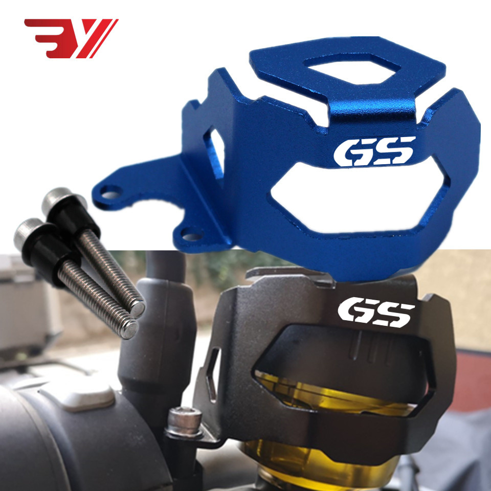 BYSPRINT Motorcycle For <font><b>BMW</b></font> F800GS F700GS <font><b>F</b></font> 800 <font><b>700</b></font> <font><b>GS</b></font> 13-18 Front Brake Pump Fluid Reservoir Guard Protector Oil Cup Cover part image
