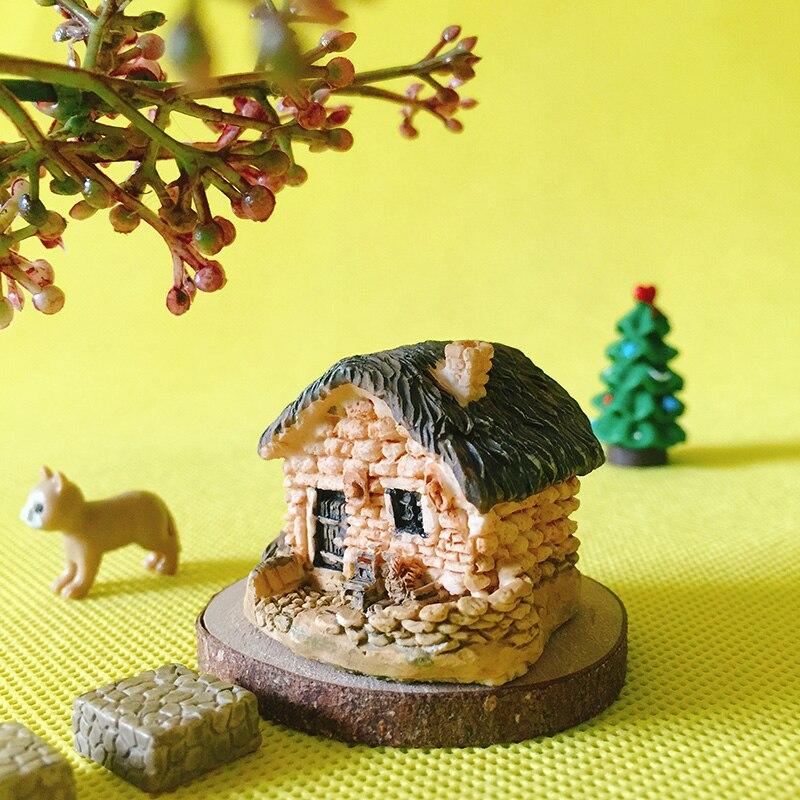 * ^ * Neue Ankunft * ^ */miniaturen Cottage/tiny Haus/shabby/nette/fee Garten/gnome/moos Terrarium Home Decor/handwerk/h037/spielzeug/modell