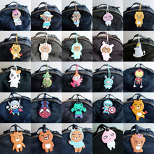 Luggage&bags Accessories silica gel luggage tag Animal Cartoon Suitcase ID Addres Holder Baggage Boarding Portable Label