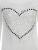 Corazón Print Knit Top Del O-cuello de Longitud Completa Blanco Tee Negro suéter 2016 Otoño Mujeres Ocasionales Tops Nueva Llegada de Las Mujeres T camisa