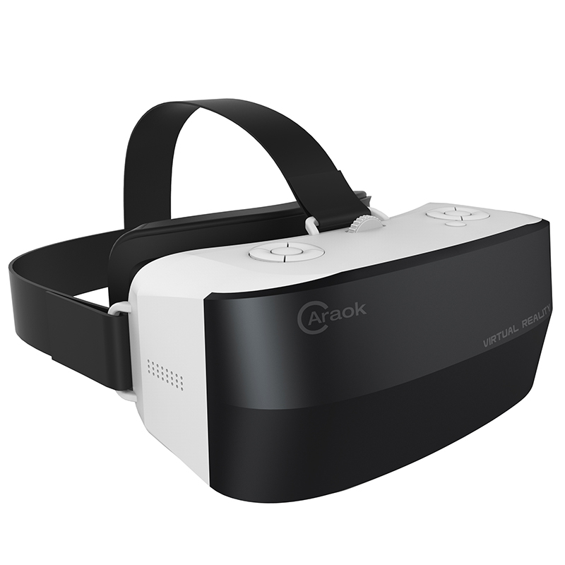 2016 New 3D <font><b>VR</b></font> <font><b>All</b></font> <font><b>in</b></font> <font><b>one</b></font> Helmet Virtual Reality Goggles Ram 1G Rom 8G Support WIFI TF Bluetooth Card 5.5 inch IPS <font><b>Display</b></font>