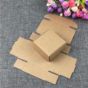 Image 5 - 50 Set Kraft Sieraden Box & Sieraden Kaarten Earring/Ketting BOX Blank Sieraden Displays Verpakking Sieraden Set/Hand gemaakt Geschenkdozen