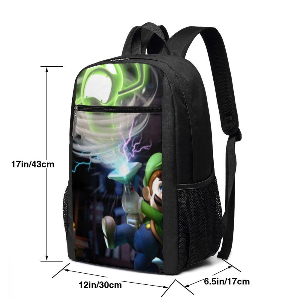 Mario Bros Backpack Luigi Backpacks Pattern Schoolbag Bag Multi Purpose Teen Trending High quality Men 39 s Women 39 s Bags in Backpacks from Luggage amp Bags