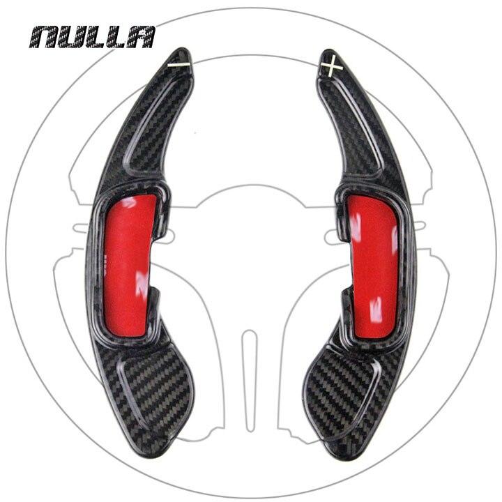 NULLA Carbon Steering Wheel Shift Paddle Shifter Accessories Sticker For Mazda 3 6 Mazda3 Mazda6 CX3 CX5 CX 3 CX 5 CX 3 5 Axela