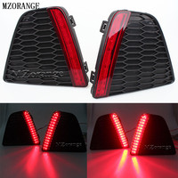 Car Styling Tail Rear Bumper Lamp LED Reflector Stop Brake Light Fog Lamp Fit For Honda