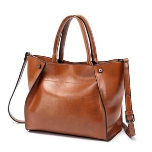 Image 2 - DIDABEAR Luxury Leather Handbags Women Large Tote Bag Female Bolsas Femininas Casual Shoulder Bags Lady Smile face Messenger Bag