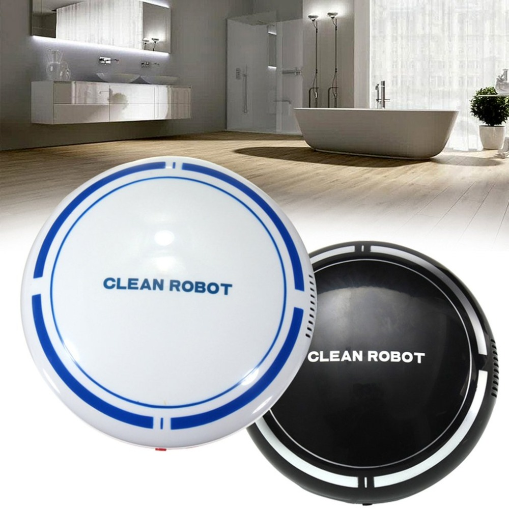 USB Rechargeable Smart Clean Robot Automatic Vacuum Floor Cleaner Low Noise Dust Collector Sweeping CleanerUSB Rechargeable Smart Clean Robot Automatic Vacuum Floor Cleaner Low Noise Dust Collector Sweeping Cleaner