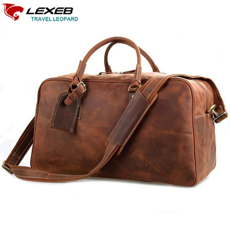 Online Get Cheap Mens Leather Hand Traveller Bag -Aliexpress.com ...