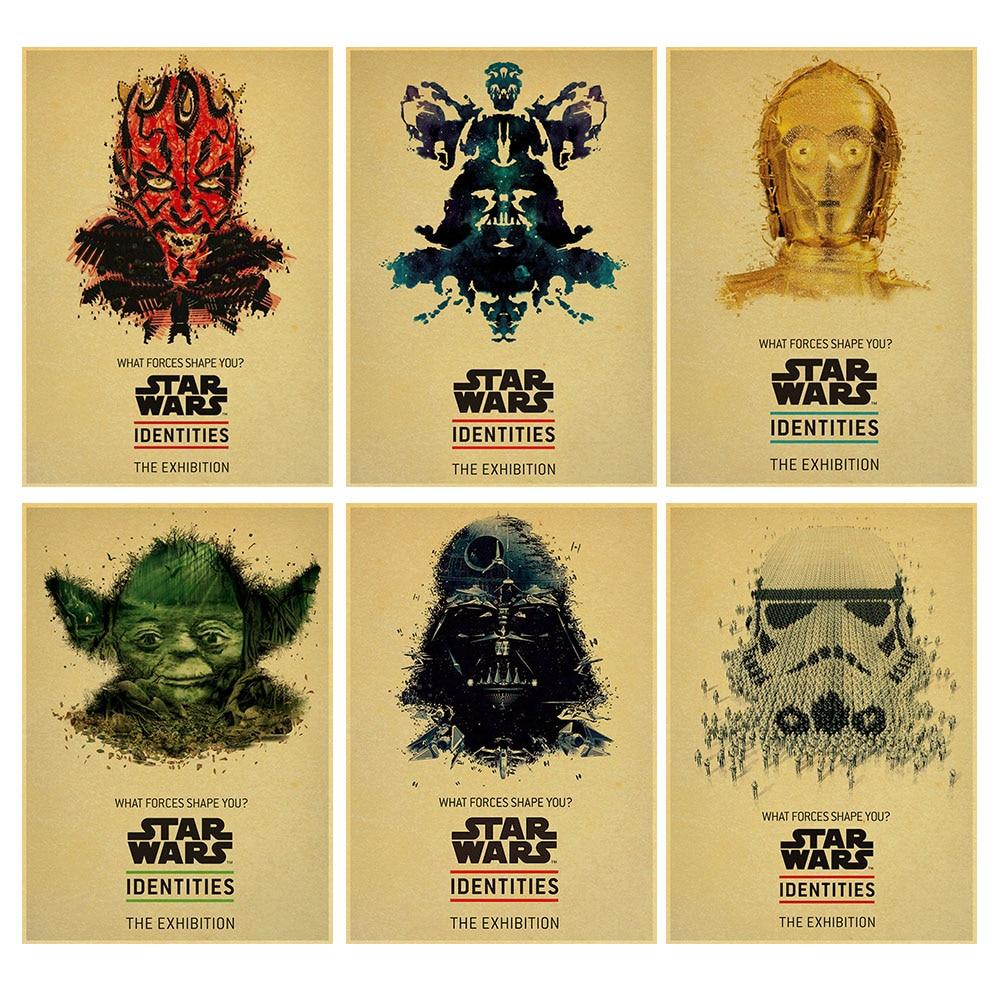 Online Shop Custom retro Wall Decals Darth Vader Decor Pinup Sticker ...