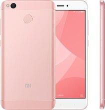 "Original Xiaomi Redmi 4X 4 X 4GB RAM 64GB Mobile Phone Snapdragon 435 Octa Core 5.0"" HD 4G LTE 13.0MP 4100mAh Fingerprint ID(Hong Kong)"