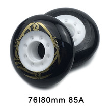 80 76mm 85A Rollers for Inline Skates Slide Slalom Skates Wheels For Kids Adult Good as Powerslide Seba Patins Roller Wheel LZ25 f1 seba
