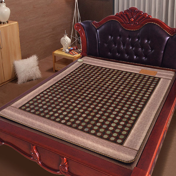Natural Tourmaline Mat! Jade Physical Therapy Mat Pad Winter Heating Cushion Good Health Mat  Free shipping&Drop Shipping best selling korea natural jade heated cushion tourmaline health care germanium electric heating cushion physical therapy mat
