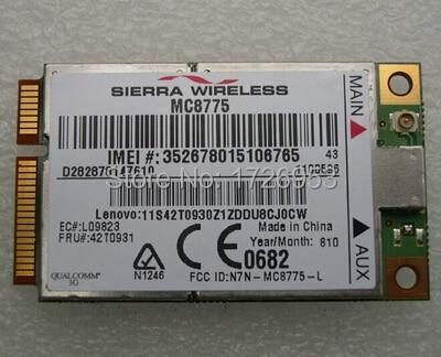 Sierra Wireless 775 GPS Modem for car laptop