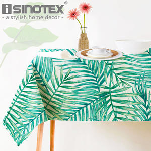 ISINOTEX Table Cloth Fabric Home Dining Table Cover Decor