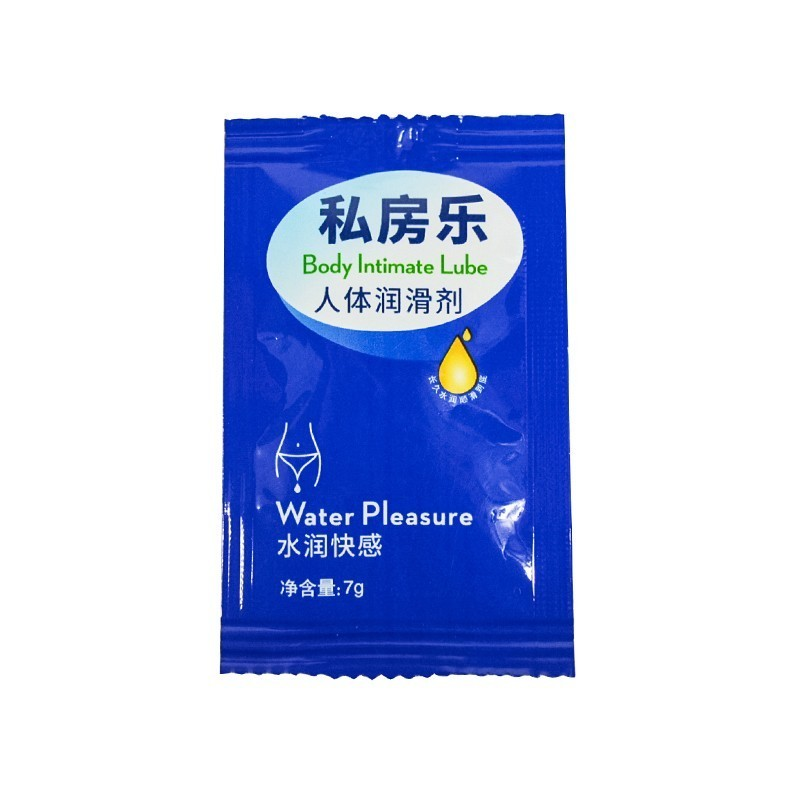 Portable Bags Lubricants 7g Body Intimate Water-soluble Sex Massage Oil For Oral Vagina Anal Sex Lubricants For Male Female Gay(China)