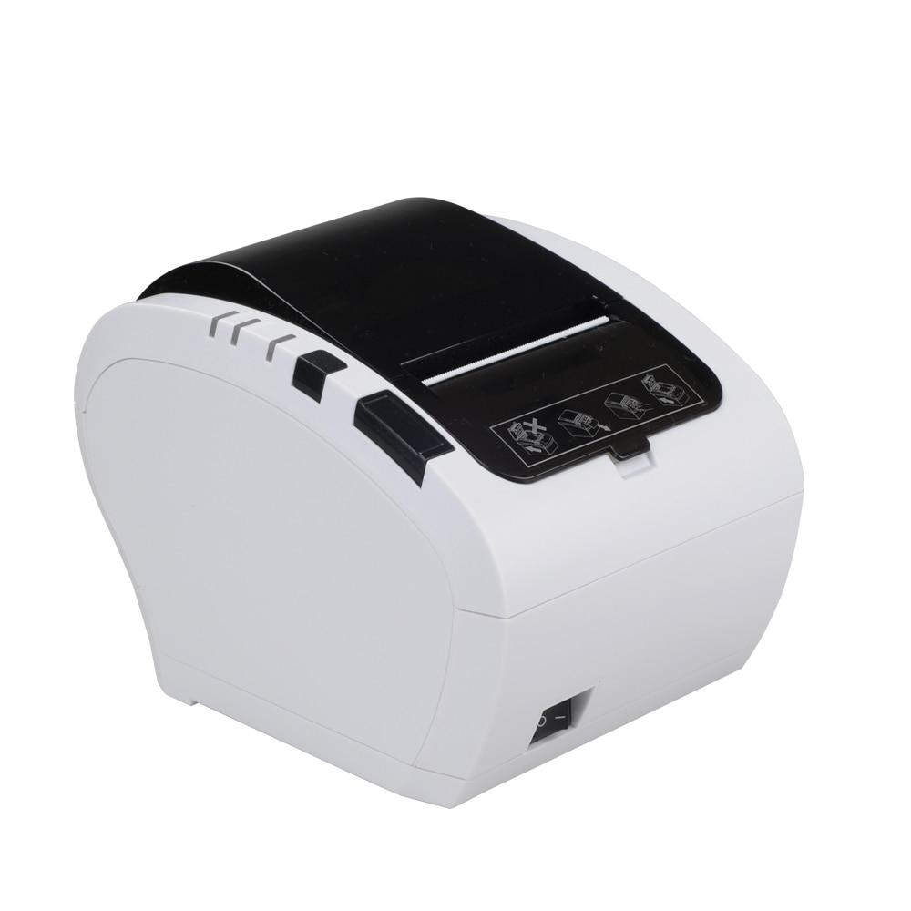 Pos чековый принтер 80 мм Термопринтер линия печати Авто резак чековый принтер usb - 3
