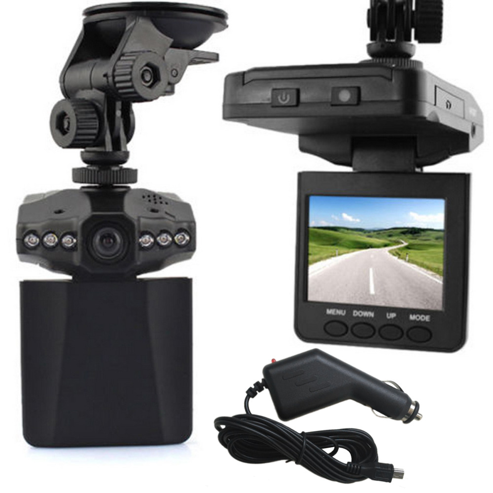 Newest Camcorder LCD 270 Degree 2.5 HD Car LED DVR Road Dash Video Camera Recorder Car Detector Camera Free Shipping