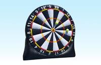 Бесплатная доставка! 3 м/10ft высотой гигантские надувные dart, забавные тапочки с большим надувные футбольные дротики, надувной футбольный мяч