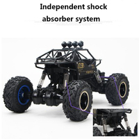RC Off Road Vehicle 2 4G Hight Speed SUV Alloy Rc Cars Racing 4Channel Hummer Rock
