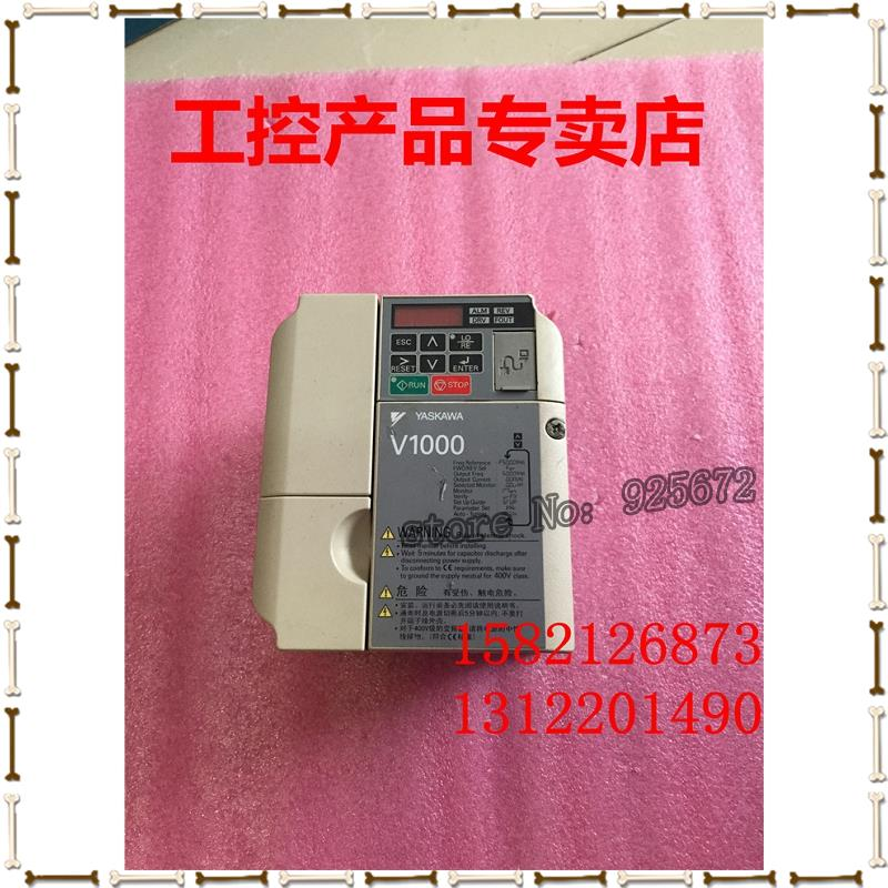Yaskawa inverter V1000 series CIMR - VB4A0002BBA 0.75 KW / 0.4 KW 380 v real figure inverter cimr g7a45p5 main board etc618046 s1036 ypht31261 1g 5 5kw